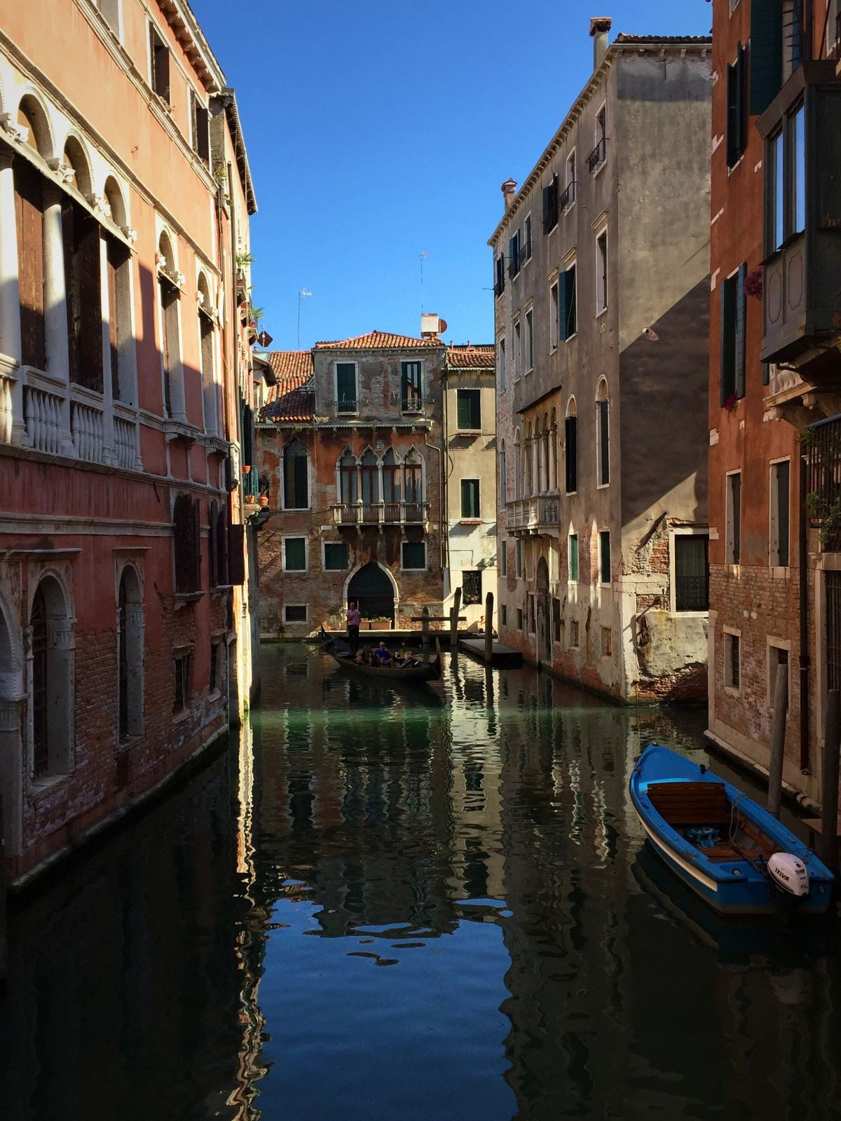 2018 European travel review: Canal in Venice, Italy