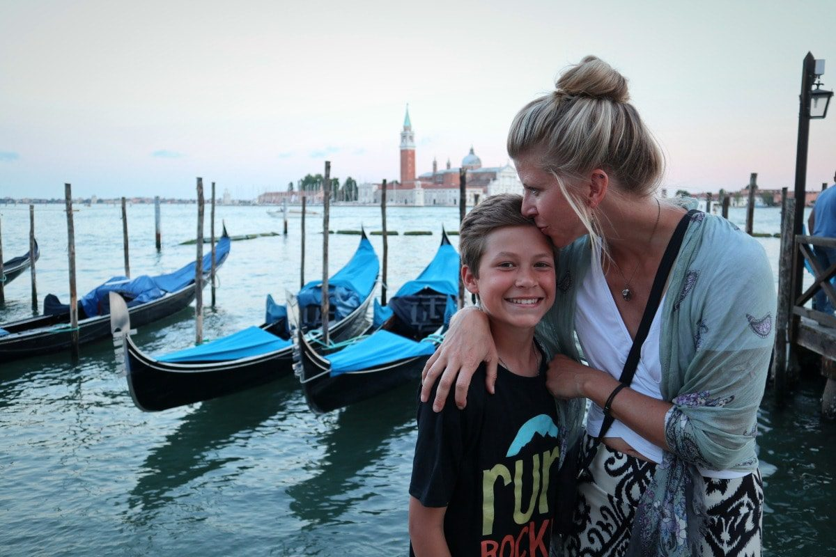 2018 European travel review: Sunset kiss in Venice, Italy