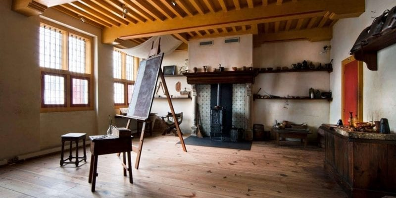Rembrandt House Museum in Amsterdam collection includes his recreated workshop