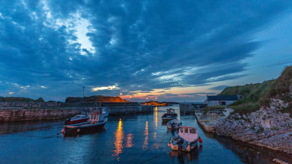 Game of Thrones filming locations in Europe: Ballintoy Harbour