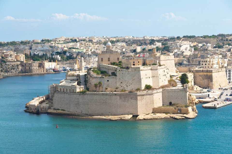 Game of Thrones filming locations in Europe:: Fort St. Angelo