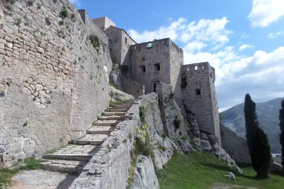 Game of Thrones filming locations in Europe: Klis fortress, Croatia