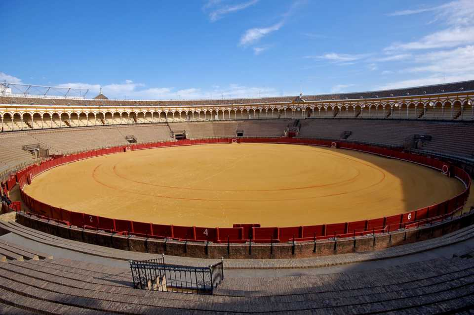 Game of Thrones filming locations in Europe: Plaza De Toros De Osuna, Sevilla
