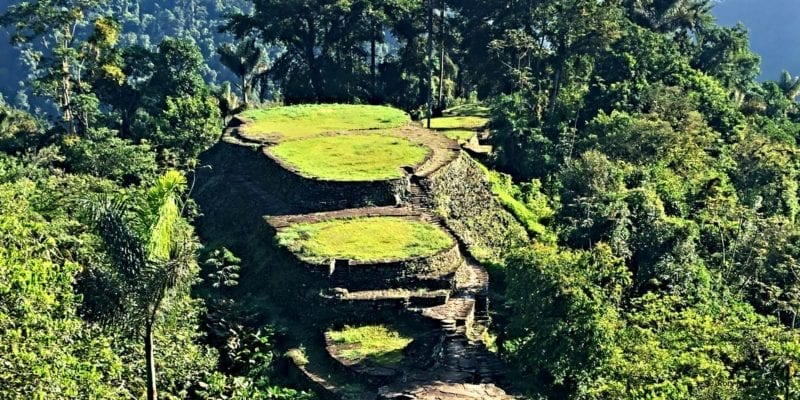 Lost City trek in Colombia