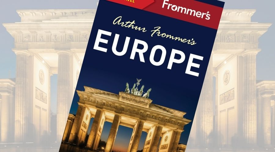 Europe travel guides help itinerary planning like Frommer's Europe
